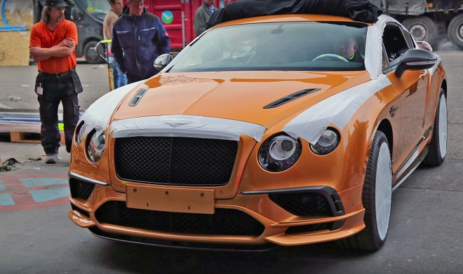 Bentley Continental Supersports ra mat anh 1