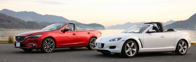 Mazda6 bien thanh xe mui tran la mat hinh anh 2
