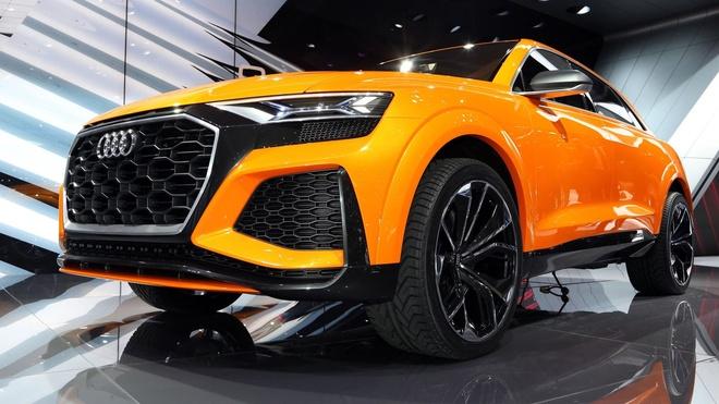 Audi Q8 Sport Concept - doi thu BMW X6M ra mat hinh anh 1