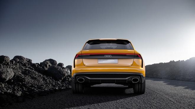 Audi Q8 Sport Concept - doi thu BMW X6M ra mat hinh anh 5