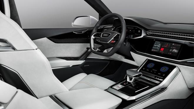 Audi Q8 Sport Concept - doi thu BMW X6M ra mat hinh anh 4