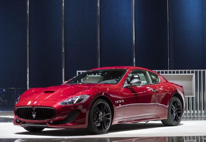 Maserati gioi thieu loat xe dac biet tai trien lam Geneva hinh anh