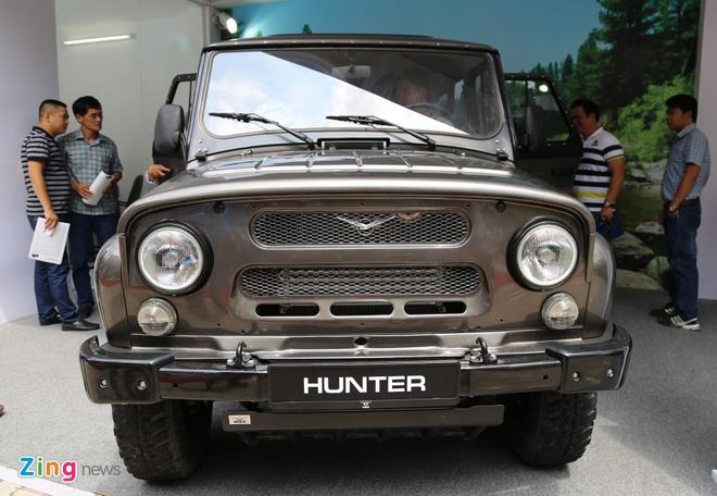 Vi sao UAZ Hunter co gia len toi 460 trieu dong tai Viet Nam? hinh anh 1