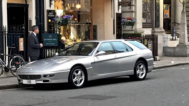 Sieu xe Ferrari cuc hiem cua hoang tu Brunei tren duong pho London hinh anh 1