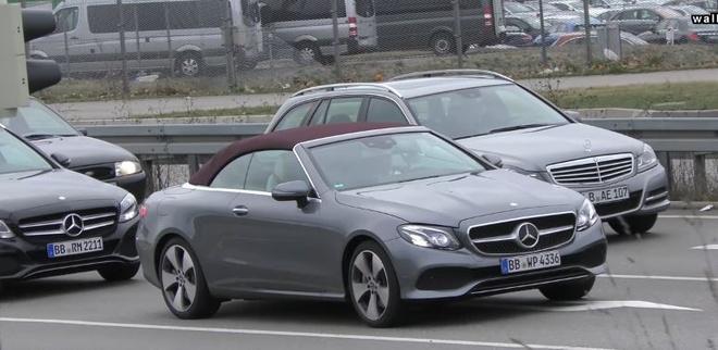 Mercedes-Benz E-Class Cabriolet 2018 anh 1