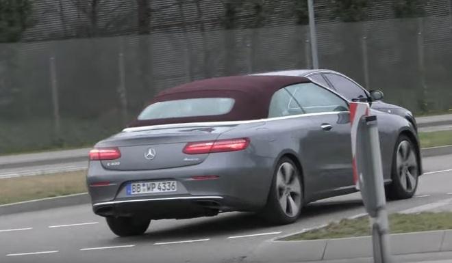 Mercedes-Benz E-Class Cabriolet 2018 anh 4