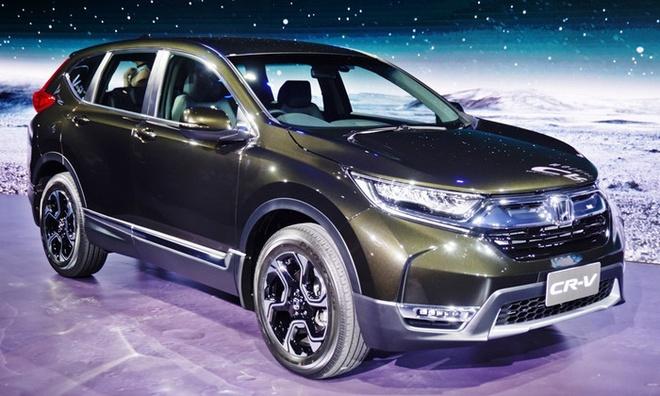 Honda CR-V 2017 ra mat tai Thai Lan anh 1