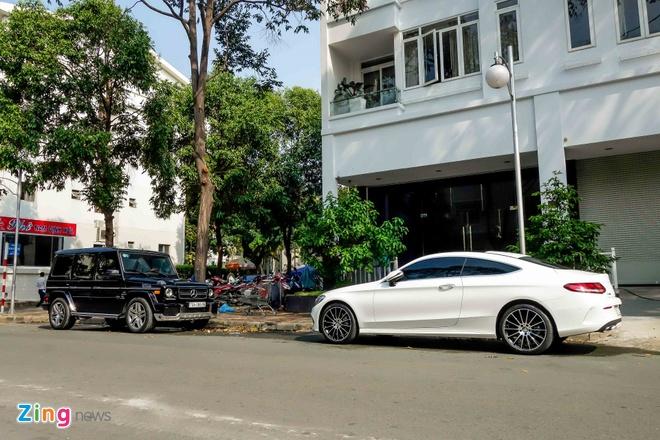 Sieu SUV Mercedes G63 xuat hien tai nha Cuong Do La hinh anh 9