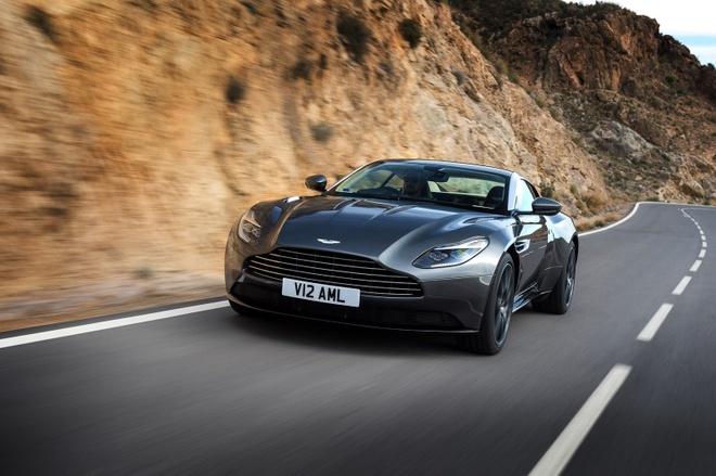 Aston Martin sap ra mat sieu xe su dung dong co Mercedes hinh anh 1