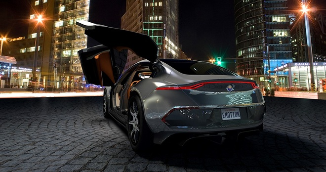Fisker Emotion thach thuc xe dien gia re Tesla Model 3 hinh anh 2