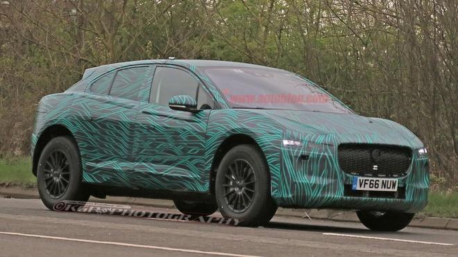Jaguar I-Pace xuat hien tren duong thu hinh anh 1