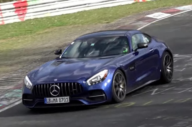 Mercedes AMG GT 2018 anh 1