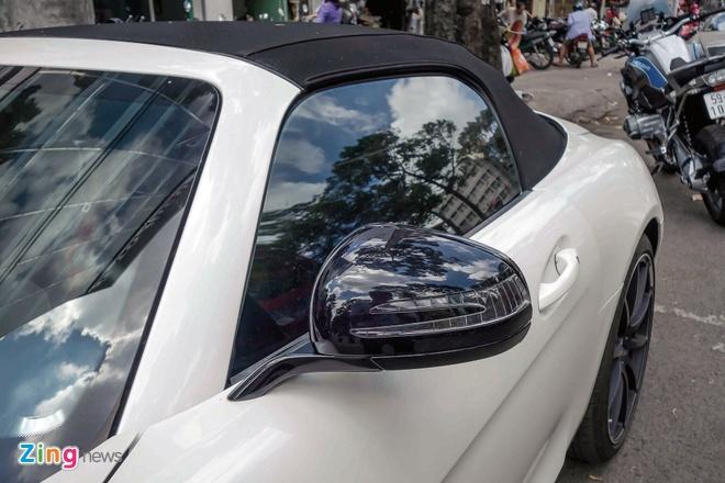 Sieu xe Mercedes SLS mui tran duy nhat tai Viet Nam cua dai gia ca phe hinh anh 6