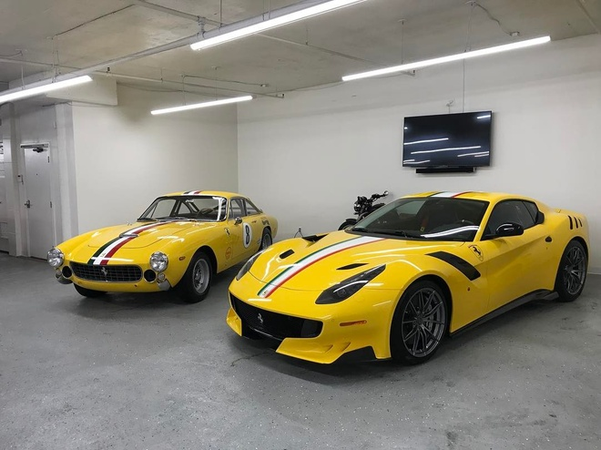 Ferrari F12tdf doc nhat cua nha suu tap Ferrari hinh anh