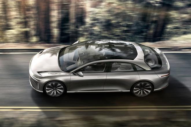 Sieu xe dien Lucid Air dat van toc 349 km/h, de doa Tesla Model S hinh anh