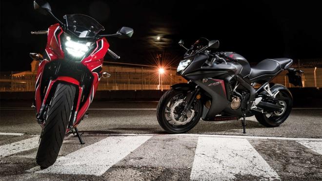 Honda CBR650F va CB650F 2017 gia tu 193 trieu tai Nhat Ban hinh anh 1