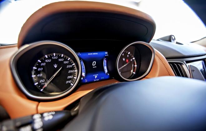 Maserati Levante ban dac biet trung bay o Sai Gon hinh anh 8