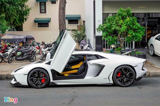 Lamborghini Aventador chinh hang duy nhat VN do ham ho hinh anh 2