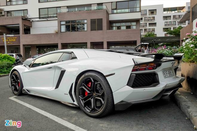 Lamborghini Aventador chinh hang duy nhat VN do ham ho hinh anh 4