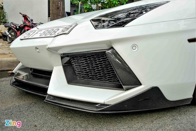 Lamborghini Aventador chinh hang duy nhat VN do ham ho hinh anh 5