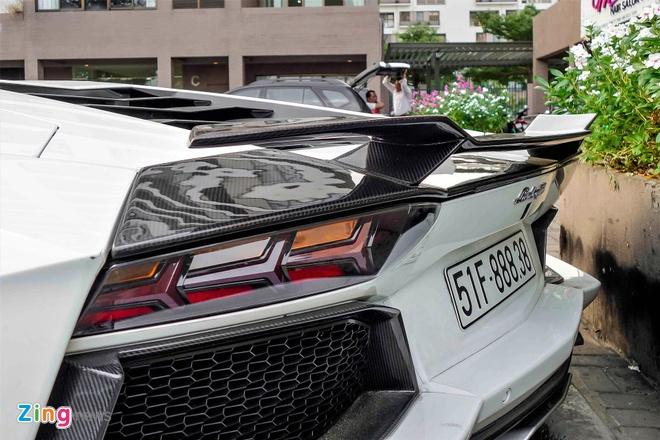 Lamborghini Aventador chinh hang duy nhat VN do ham ho hinh anh 7