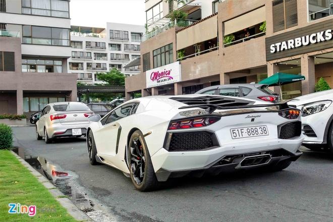 Lamborghini Aventador chinh hang duy nhat VN do ham ho hinh anh 8