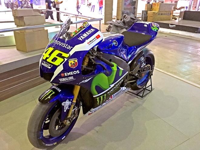 Sieu moto Yamaha M1 xuat hien tai trien lam xe may Viet Nam hinh anh 3