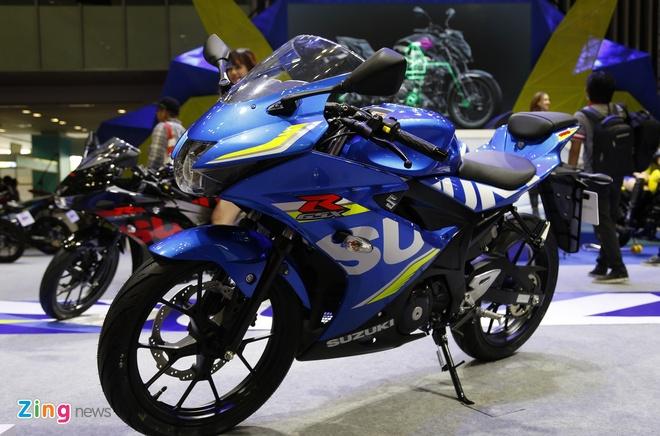 Suzuki GSX-R150 gia 75 trieu dong den tay khach hang Viet hinh anh 1