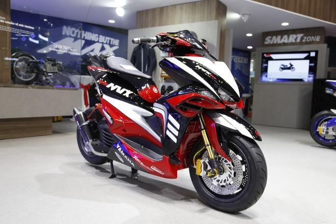 Yamaha mang ban do NVX chinh hang toi Viet Nam hinh anh