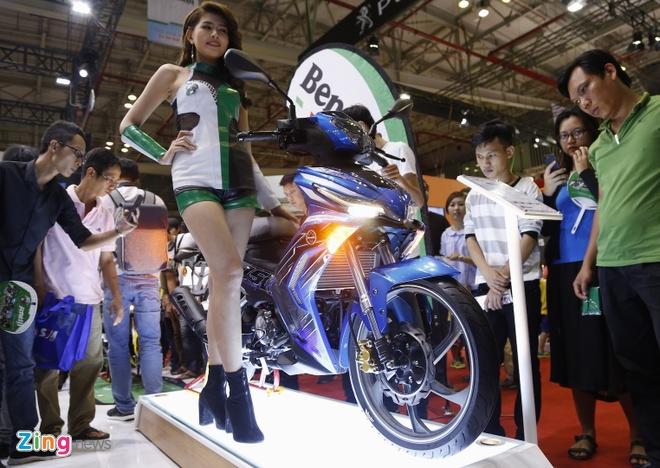 Benelli RFS 150i - doi thu Yamaha Exciter ra mat tai Viet Nam hinh anh 1