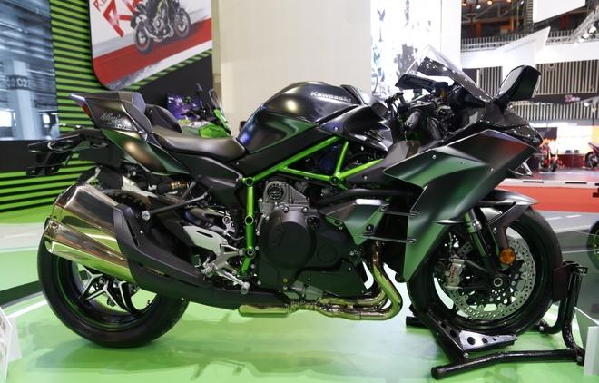 Sieu moto Kawasaki Ninja H2 hang hiem tai Viet Nam hinh anh
