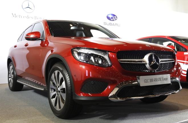 Chi tiet Mercedes GLC Coupe gia 2,9 ty vua ban tai Viet Nam hinh anh