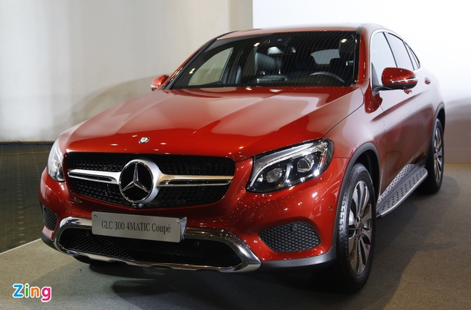 Chi tiet Mercedes GLC Coupe gia 2,9 ty vua ban tai Viet Nam hinh anh 1