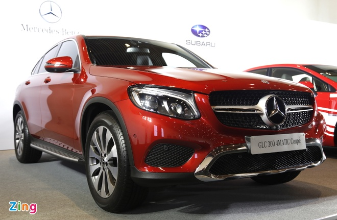Chi tiet Mercedes GLC Coupe gia 2,9 ty vua ban tai Viet Nam hinh anh 13