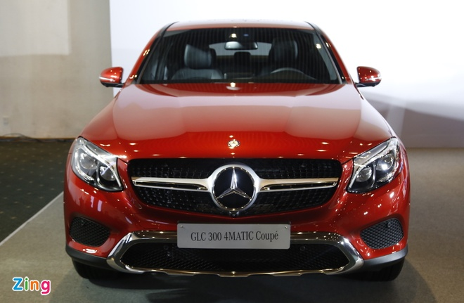 Chi tiet Mercedes GLC Coupe gia 2,9 ty vua ban tai Viet Nam hinh anh 2