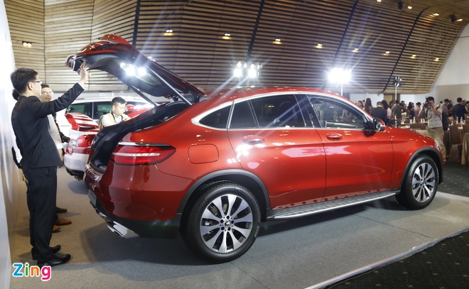 Chi tiet Mercedes GLC Coupe gia 2,9 ty vua ban tai Viet Nam hinh anh 4