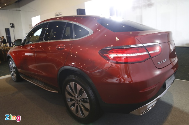 Chi tiet Mercedes GLC Coupe gia 2,9 ty vua ban tai Viet Nam hinh anh 5