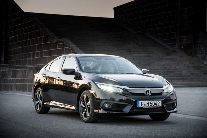 Honda Civic 2017 sedan ra mat thi truong chau Au hinh anh 1