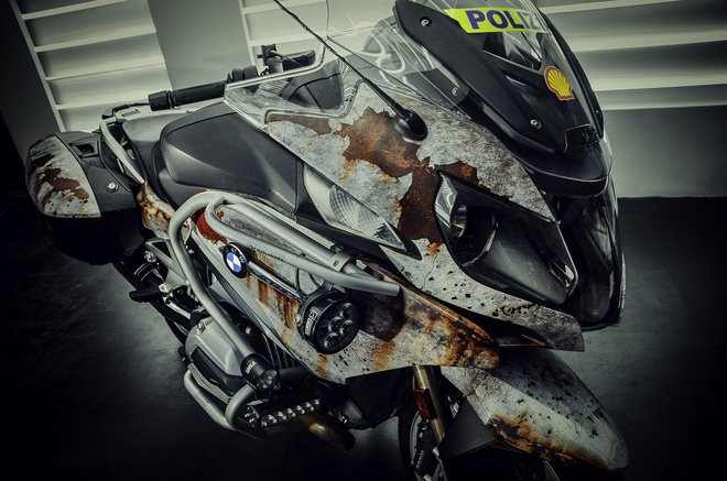 Sieu moto BMW RT1200R do kieu ri set boi tho Viet hinh anh