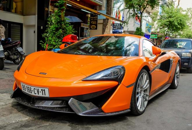 Sieu xe McLaren 570S cua trum ma tuy o Sai Gon hinh anh