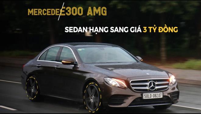 Mercedes E300 AMG - sedan hang sang gia 3 ty dong tai Viet Nam hinh anh