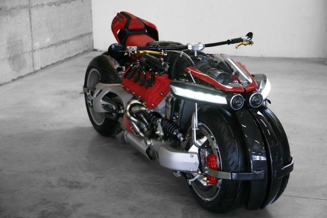 sieu moto Lazareth LM847 dung dong co Maserati anh 2