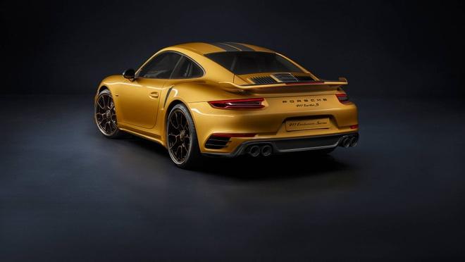 911 Turbo S Exclusive - sieu xe gioi han 500 chiec toan cau cua Porsche hinh anh 6