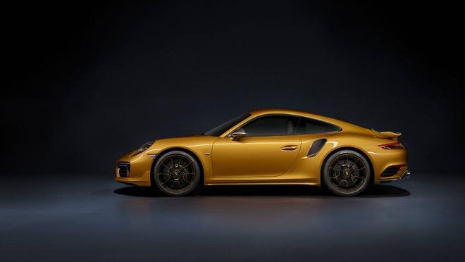 911 Turbo S Exclusive - sieu xe gioi han 500 chiec toan cau cua Porsche hinh anh 10