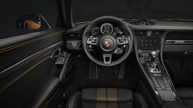 911 Turbo S Exclusive - sieu xe gioi han 500 chiec toan cau cua Porsche hinh anh 5