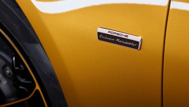 911 Turbo S Exclusive - sieu xe gioi han 500 chiec toan cau cua Porsche hinh anh 8