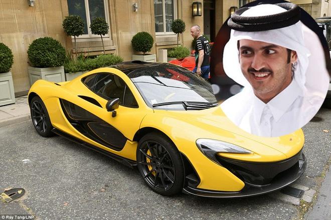 Thai tu Qatar va thu choi sieu xe trieu do hinh anh
