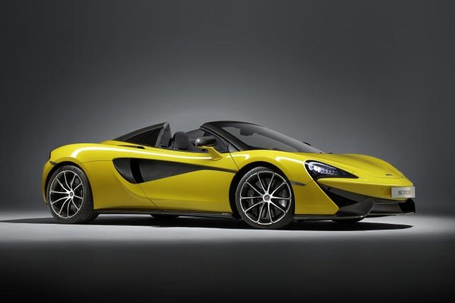 McLaren 570S Spider 'bien hinh' trong 15 giay hinh anh 1
