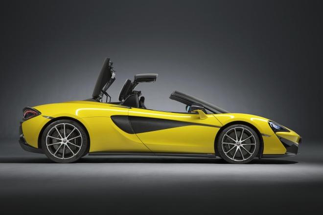 McLaren 570S Spider 'bien hinh' trong 15 giay hinh anh