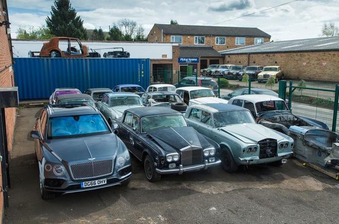 Nghia trang xe sieu sang Rolls-Royce va Bentley lon nhat the gioi hinh anh